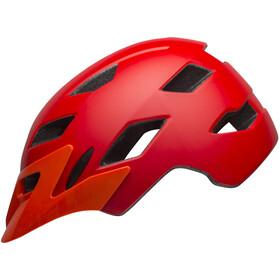 Bell Sidetrack Helmet Youth matte red/orange